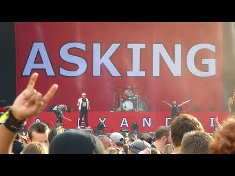 Asking Alexandria - Alone in a Room - live @ Greenfield Festival 2018, Interlaken 07.06.2018