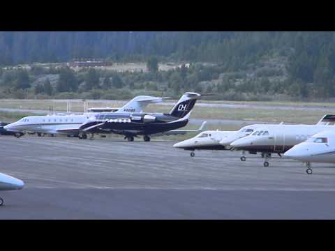 Tahoe Airport in motion-Timelapse 7-15-2014
