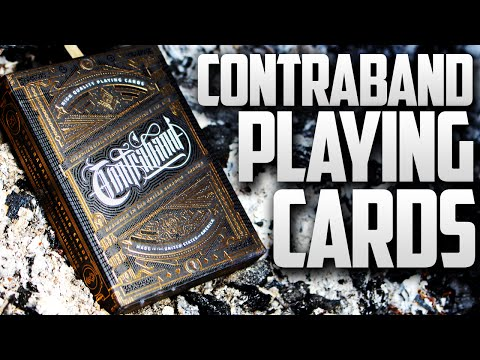 Deck Review - Contraband Playing Cards Theory11 [HD]