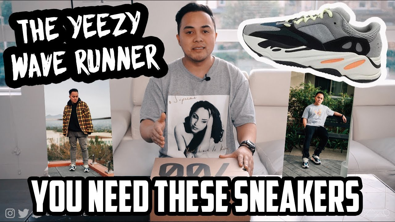 48f1ee3efae1e Yeezy BOOST 700 Waverunner FITS  Look Book + REVIEW UNBOXING - YouTube