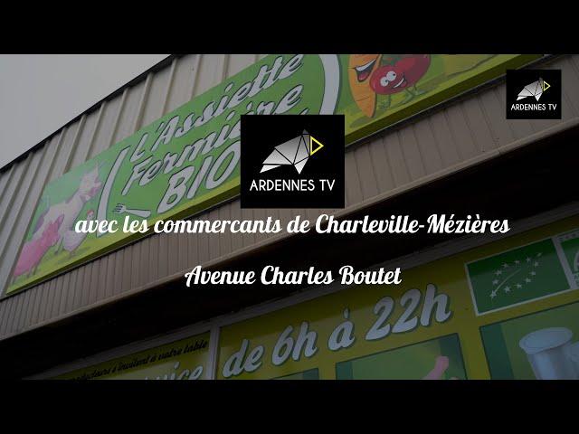 Commerçants de Charleville-Mézières - Avenue Charles Boutet