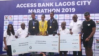 Kenya and Ethiopia Win Big at Access Bank Lagos City Marathon 2019