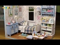 DIY Miniature Dollhouse kit   Sunshine Overflowing ミニチュアドールハウスキッ…