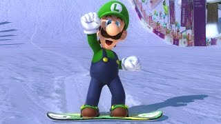 Mario & Sonic at the Sochi 2014 Olympic Winter Games - Jumping Medley