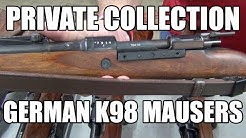 Private Collection : K98 German Mauser Sale + Bayonet Previews