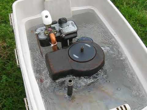 Sloppy WATER COOLED BRIGGS Deeper Water!