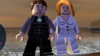 LEGO Marvel's Avengers - Malibu Hub Free Roam Gameplay w/ Tony Stark & Pepper Potts