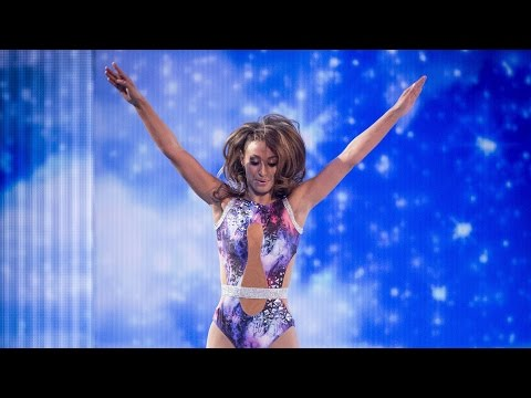Amelle Berrabah's Trampoline Performance to 'Diamonds' - Tumble: Episode 4 - BBC One