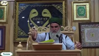 Şeyh Ahmet El Kadiri Tevazu