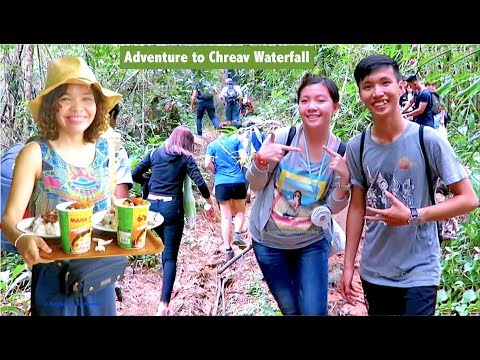 Cheav Waterfall Natural Resort in Kampong Speu Province | Aoral Mountain Trekking in Cambodia Asia