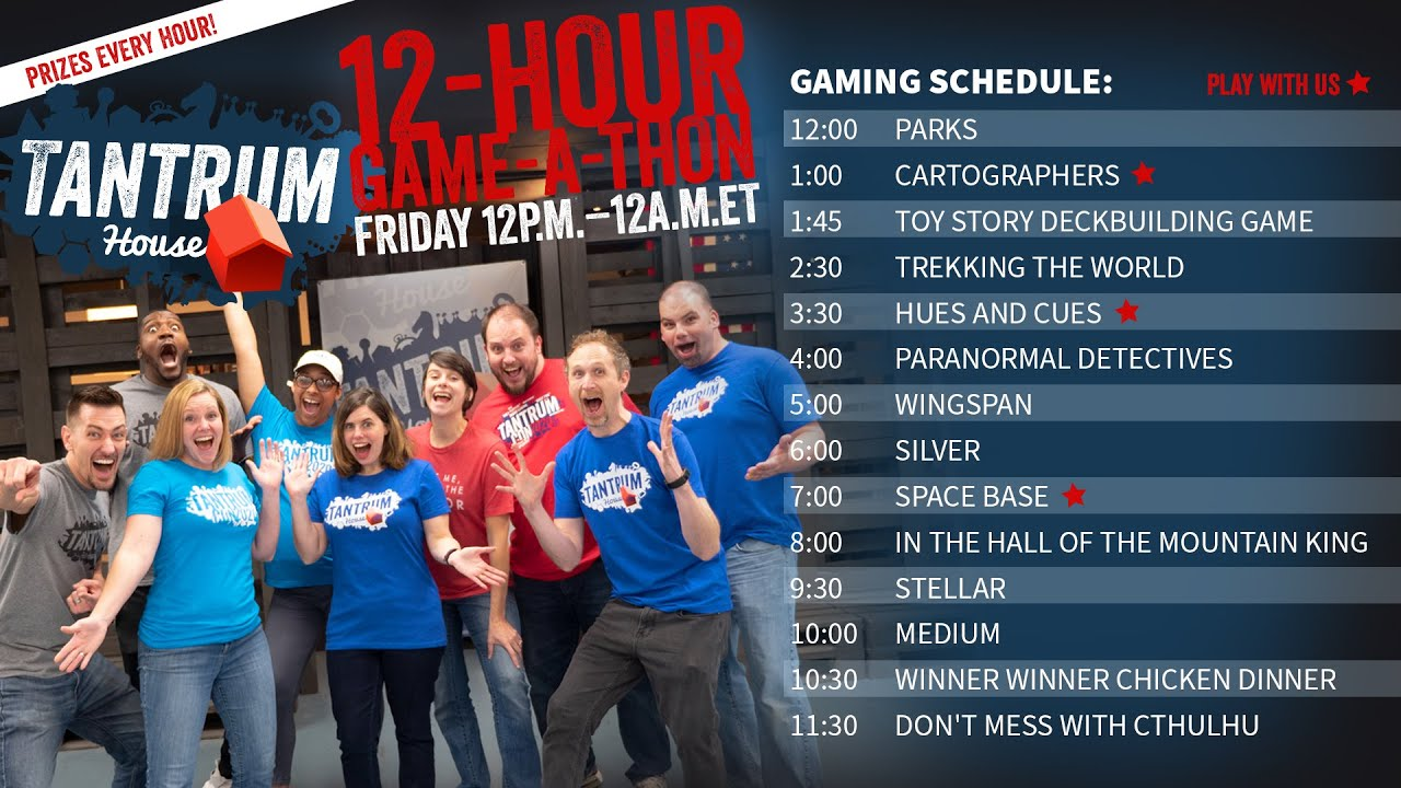 12-Hour Game-A-Thon