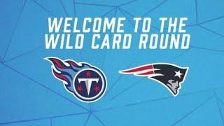 New England Patriots vs Tenn Titans Wildcard Game (Full game Highlights)