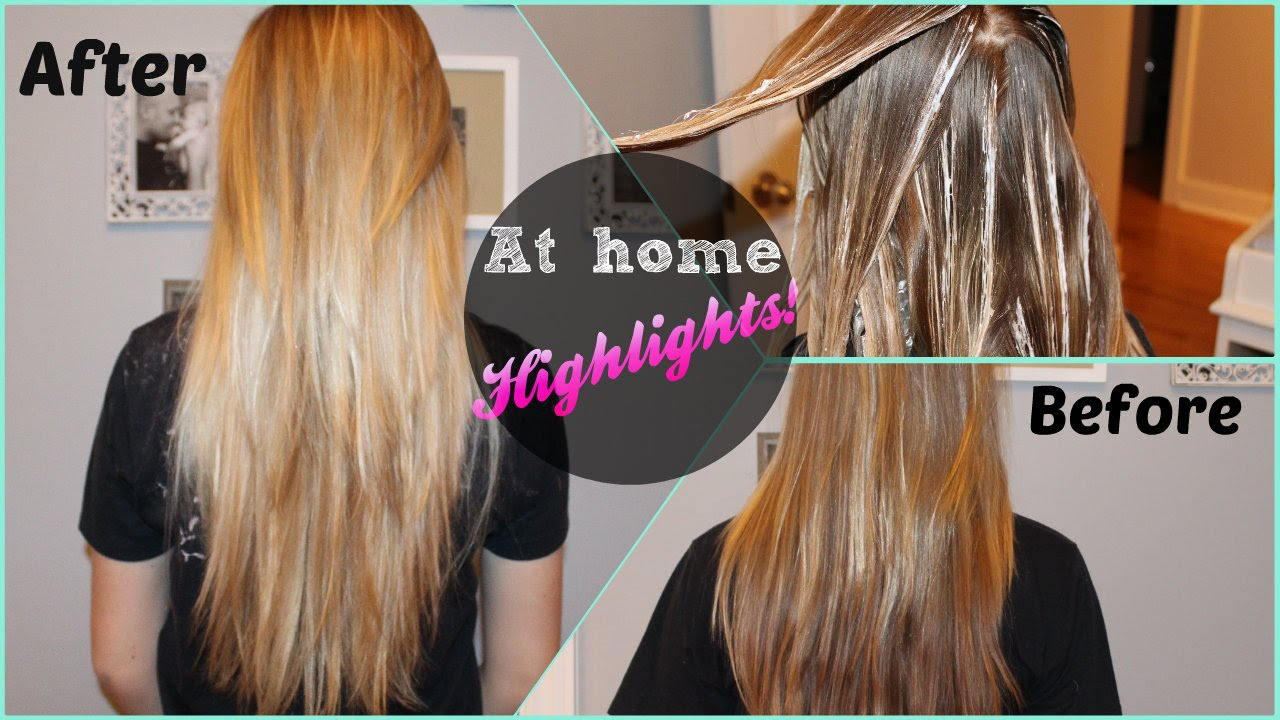 Diy at home highlights revlon frost glow youtube solutioingenieria Images