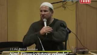 Islam - Pierre Vogel Sind Tätowierungen erlaubt.flv