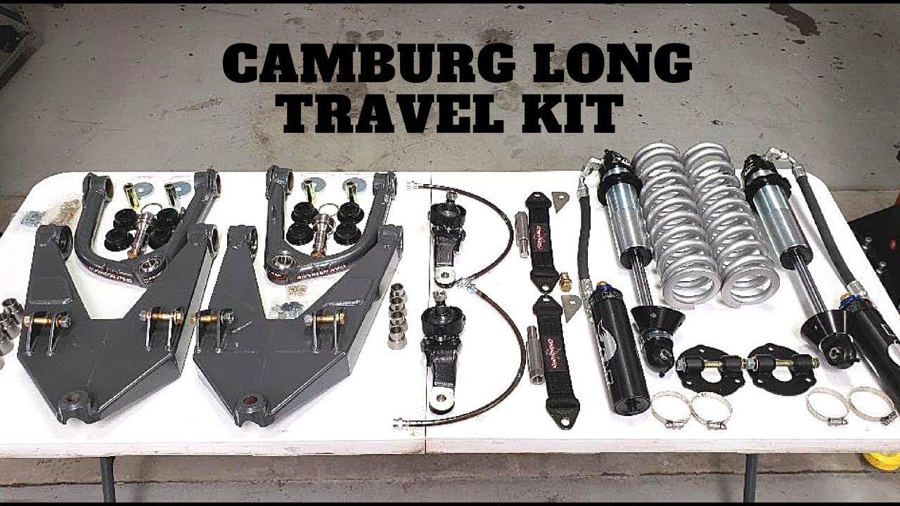 Camburg Long Travel Kit Unboxing 1st Gen Tundra