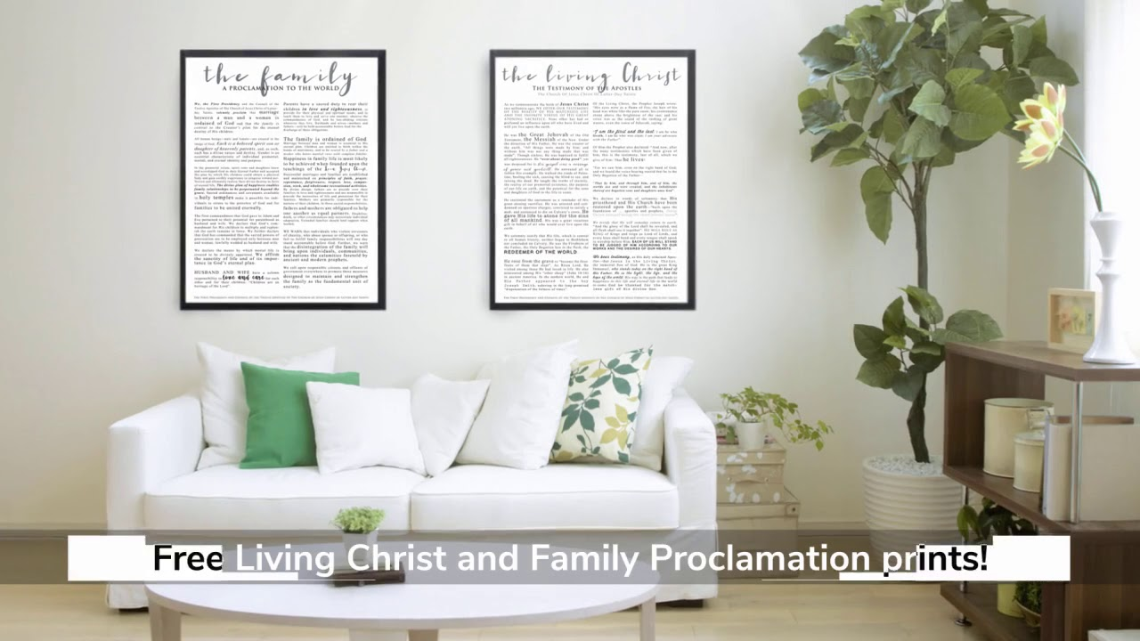 image regarding The Living Christ Free Printable titled Totally free LDS Printable!