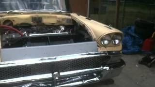 1958 Ford Fairlane 460 BBF engine