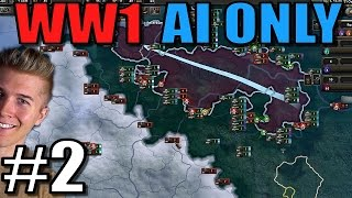 Hearts of Iron AI Only timelapse