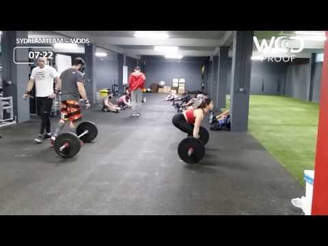ΣυdreamTeam |  workout 5 | The Fittest Team Challenge | Crossfit North Zone