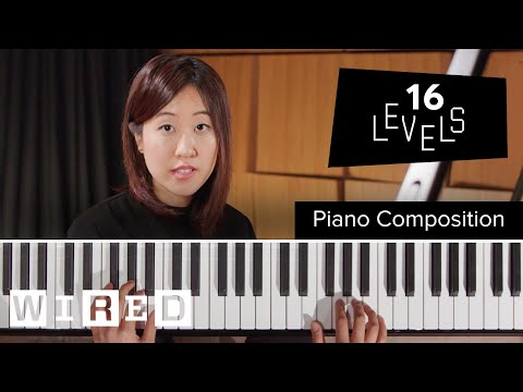 """Happy Birthday"" Played on the Piano with 16 Increasing Levels of Complexity: From Easy to Very Complex"