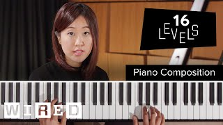Gambar cover 16 Levels of Piano Composition: Easy to Complex | WIRED