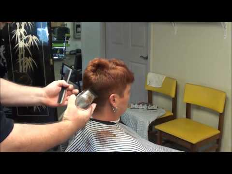 Short Ladie's Cut You Should See !!  spikey!!!