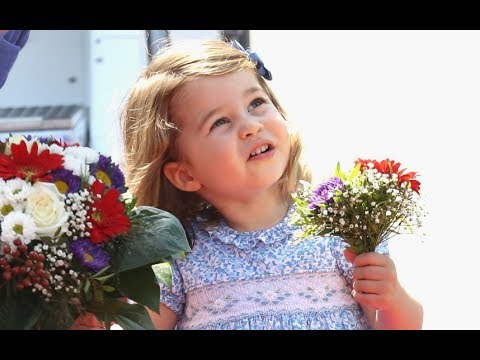 Two-year-old Princess Charlotte excels at Royal duties