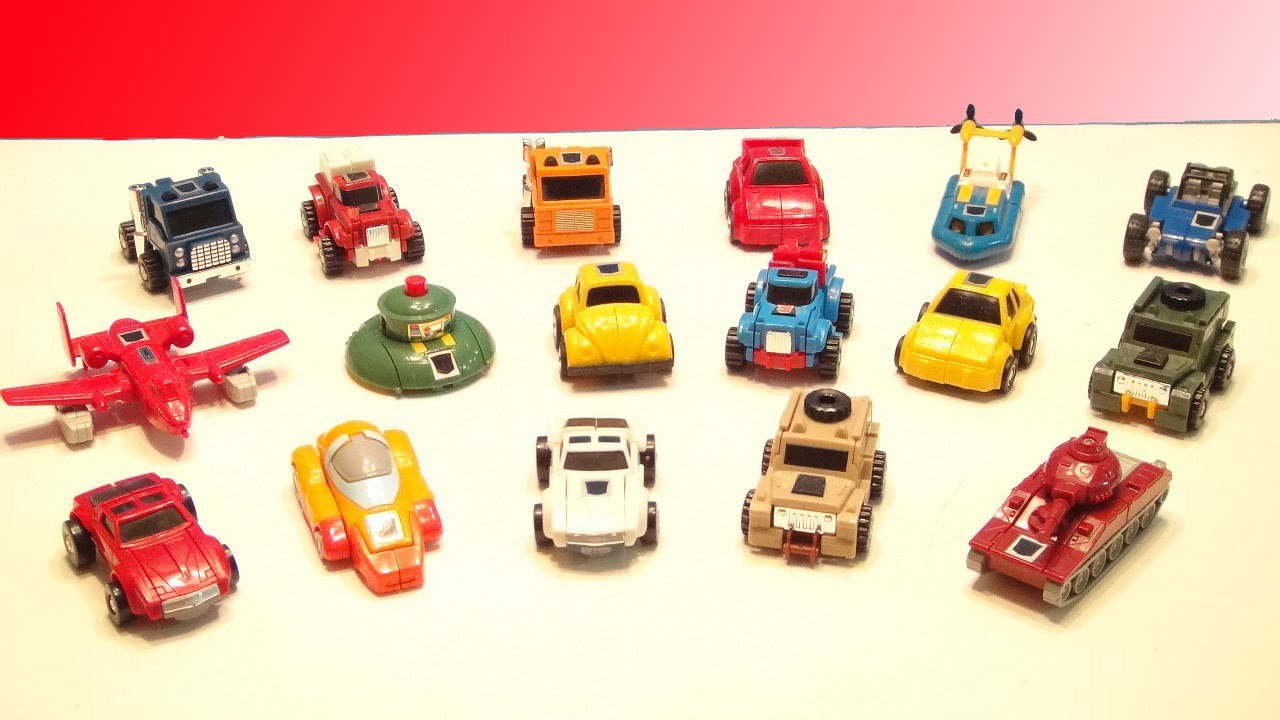 Transformers G1 Minibot Collection Video Toy Review Youtube