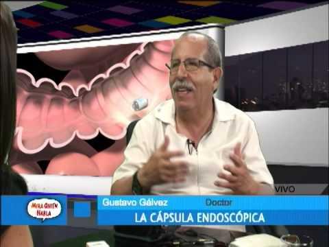 Dr Gálvez:  la cápsula endoscópica