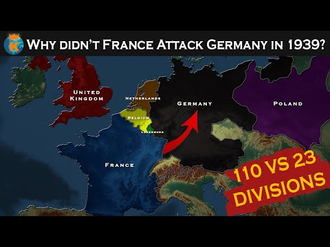 Why Didn't France Attack Germany In 1939?