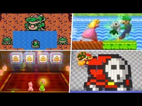 Evolution of Super Mario Bros. 2 References in Nintendo Games (1992 – 2019)