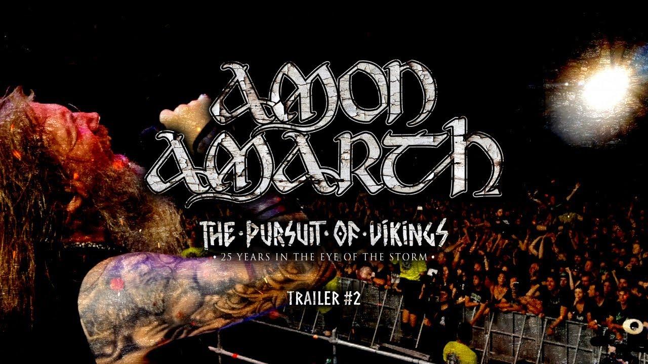 Amon Amarth The Pursuit Of Vikings Documentary Trailer 2