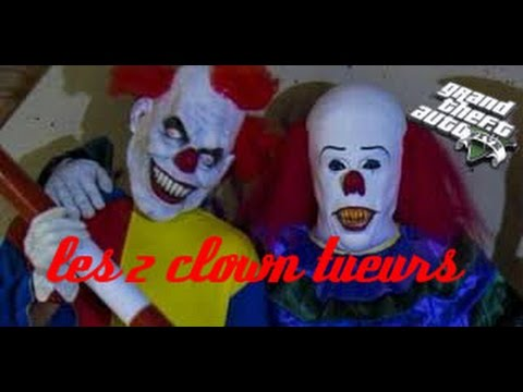 GTA5 court métrage les 2 clowns tueurs de los santos