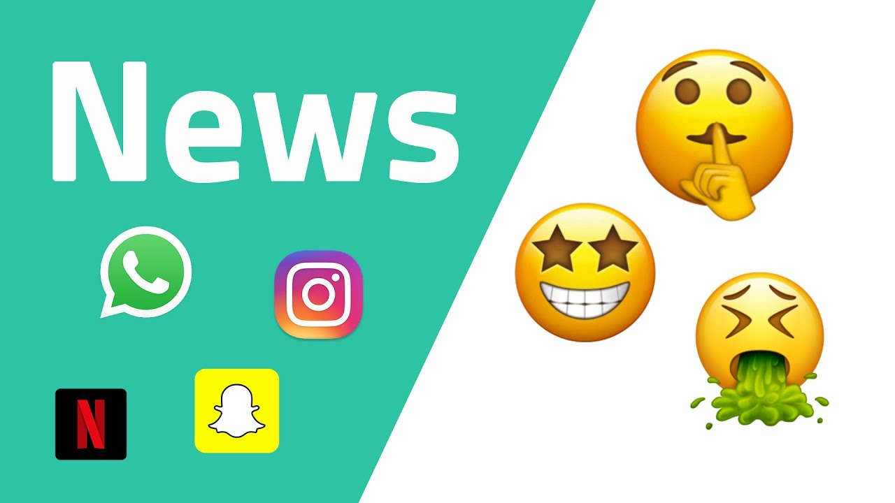 news zu whatsapp emojis 2017 instagram snapchat netflix youtube. Black Bedroom Furniture Sets. Home Design Ideas