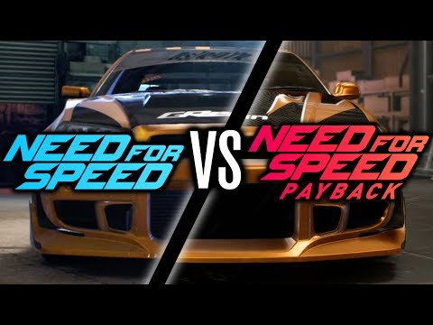 NEED FOR SPEED PAYBACK VS NEED FOR SPEED 2015 CHALLENGE!!