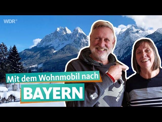 Camping-Anhänger und Wohnmobil-Tour in Bayern – Einsteiger-Familien starten durch (3/3) | WDR Reisen