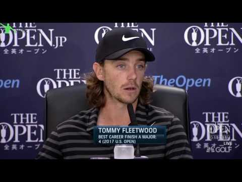 Tommy Fleetwood Interview ~ 2017 Open Championship