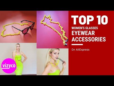Top 10! Eyewear Accessories Women's Glasses On AliExpress