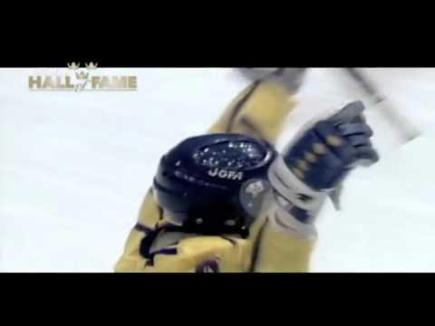 Hockey Hall Of Fame Sverige - Peter Forsberg