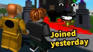 Mostrando un noob el DARK SIDE DE ROBLOX (con CaptainSparklez)