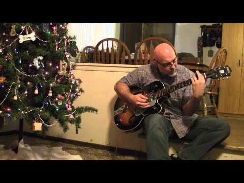 White Christmas on Guitar in the key of C
