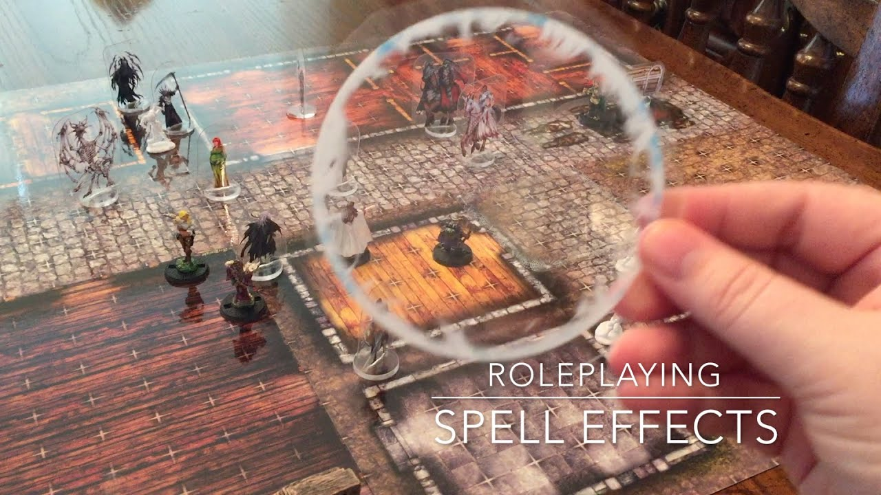 Roleplaying Spell Effects Full Details Youtube