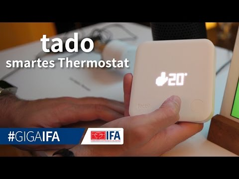 Tado: Smarter Thermostat Für Jede Wohnung Mit Sprachsteuerung - IFA 2016 - GIGA.DE