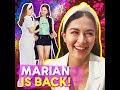 Marian is back! |  Blooming Marian Rivera made her first public appearance since giving birth | KAMI