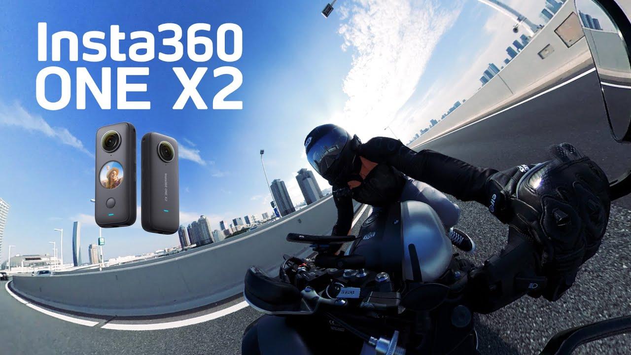 Insta360 ONE X2の360度撮影でガチでカッコいい映像作ってやろうじゃないか!?突然逃太郎のモトブログ【Insta360 ONE X2】