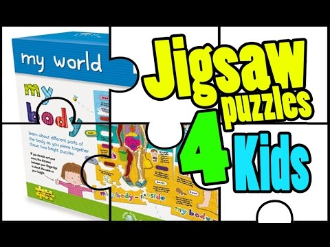Jigsaw Puzzles for Kids: Gibsons 'My Body' the best jigsaw puzzle games for kids | Beau's Toy Farm