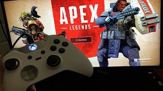 APEX LEGENDS XBOX ONE X GAMEPLAY..