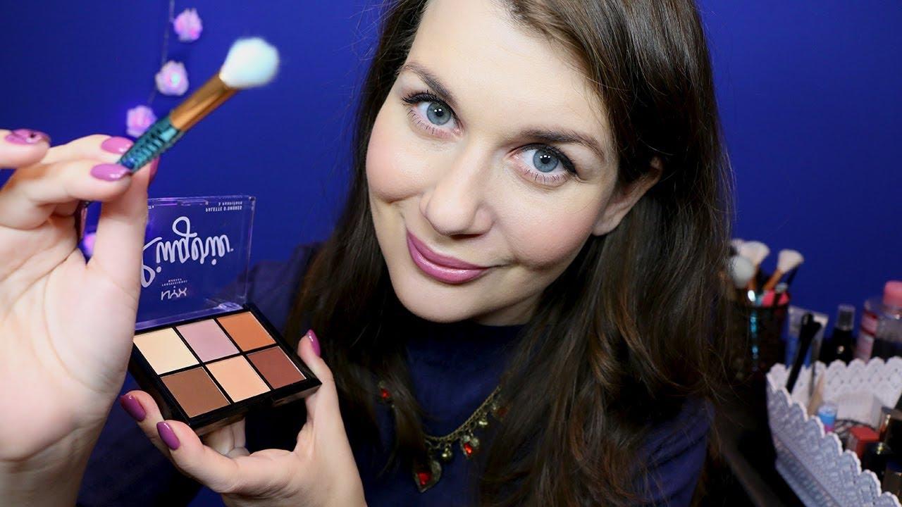 Очень приятный макияж подруге АСМР Ролевая Игра / ASMR Makeup Role Play