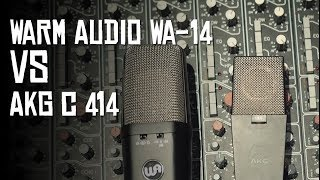 Warm Audio WA-14 VS AKG 414 (HoboRec Bul Sessions #32)