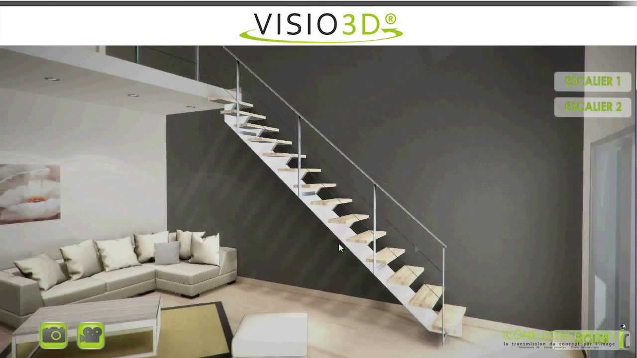 simulateurs escaliers youtube. Black Bedroom Furniture Sets. Home Design Ideas